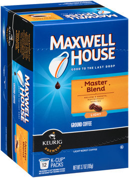 Maxwell House Master Blend Light Roast Coffee K-Cup