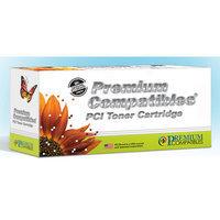 Premium Compatibles Inc. PCI Okidata 44059111 Toner Cartridge, 8000 Page Yield, Cyan