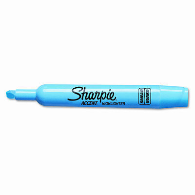 Sanford Ink Corporation SAN25010 Major Accent Highlighter- Chisel Point- Turquoise