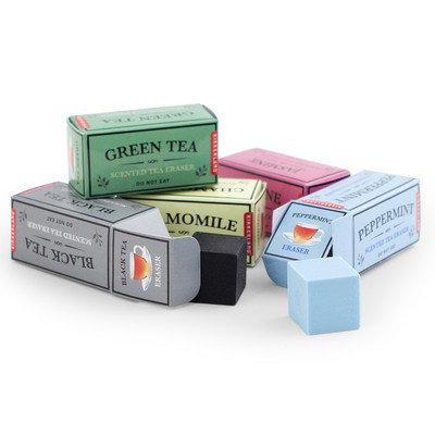 Kikkerland Scented Tea Erasers