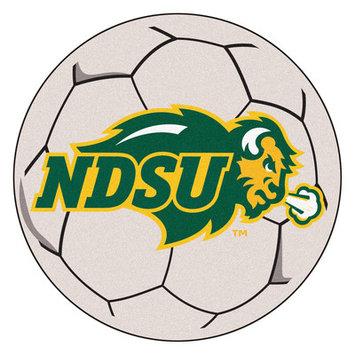 FanMats North Dakota State University Soccer Ball Mat F0000140