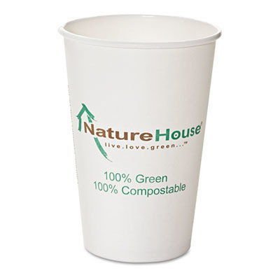 SAVANNAH SUPPLIES INC Compostable Paper/pla Cup