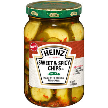 Heinz® Sweet & Spicy Chips Pickles