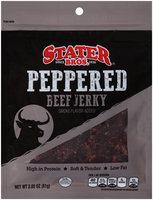 Stater Bros.® Peppered Beef Jerky 2.85 oz.