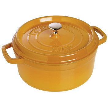Staub Round Cocotte, 5.5 quart - Saffron - Staub Cocotte Ovens