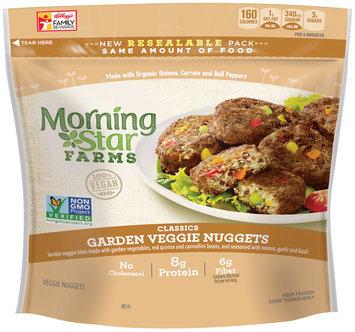 Morning Star Farms® Classic Garden Veggie Nuggets 7.9 oz. Bag