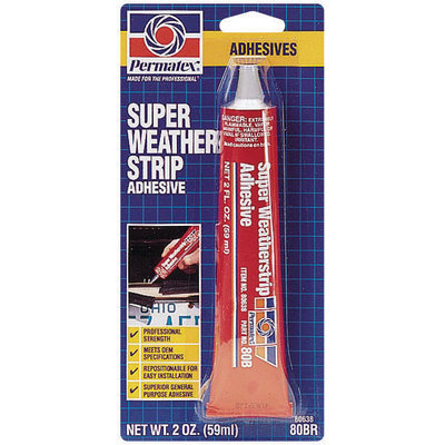 Permatex® 80638 Super Boxed Weatherstrip Adhesive 2 Fl Oz Tube