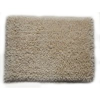 Textile Decor Castle 2 Piece 100% Cotton Melbourne Spray Latex Bath Rug Set, 30 H X 20 W and 40 H X 24 W