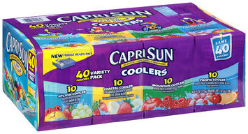 Capri Sun® Coolers Juice Drink Variety Pack 40-6 fl. oz. Pouches