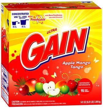 Gain with FreshLock Apple Mango Tango Powder Detergent 141 oz. Carton