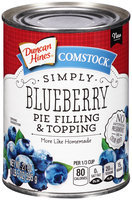 Comstock® Simply Blueberry Pie Filling & Topping