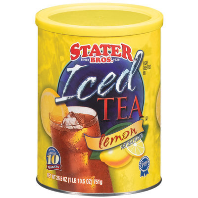 Stater Bros. Lemon Iced Tea