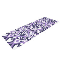 Kess Inhouse Tribal Simplicity II by Pom Graphic Design Yoga Mat