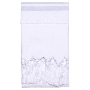 Nine Space Soft Terry Hand Towel, 35x19.5, Grey, 1 ea