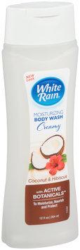 White Rain® Coconut & Hibiscus Creamy Moisturizing Body Wash 12 fl. oz. Bottle