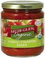 Muir Glen® Organic Garlic Cilantro Salsa 16 oz. Jar