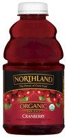 Northland Organic Cranberry 100% Juice 32 Oz Plastic Bottle