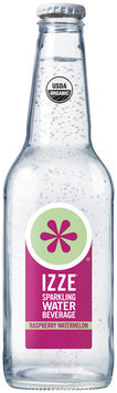 Izze® Raspberry Watermelon Sparkling Water Beverage 12 fl. oz. Bottle