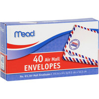 Mead Products Mead Air Mail Envelopes