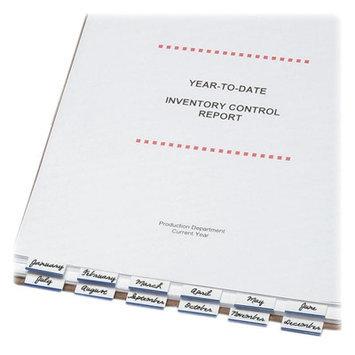 Tabbies Write-On Computer Printout Index Tabs