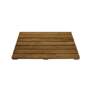 Conair PTM1 Teak Pollenex Shower Mat Wood Grain