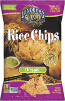 Lundberg® Wasabi Rice Chips 6 Oz