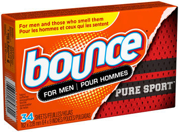 Bounce Pure Sport Dryer Sheets