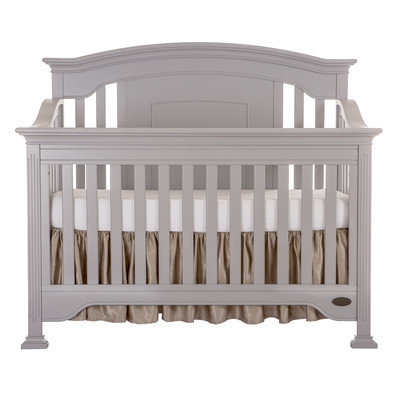 Evlr Sawyer 5-in-1 Convertible Crib Color: Dove Gray