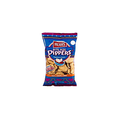 Herr's® Bite Size Dippers Tortilla Chips