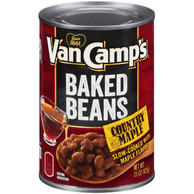 Van Camp's® Country Maple Baked Beans 15 oz. Can