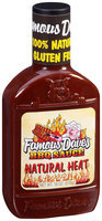 Famous Dave's® Natural Heat BBQ Sauce 18 oz. Bottle