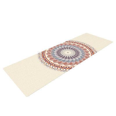 Kess Inhouse Vintage Mandala by Famenxt Yoga Mat