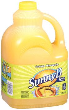 Sunny D® Raspberry Lemonade Citrus Punch 1 Gal Jug