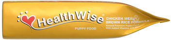 HealthWise Chicken Meal & Brown Rice Formula Puppy Dry Food