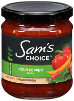 Sam's Choice™ Four Pepper Salsa 16 oz. Jar