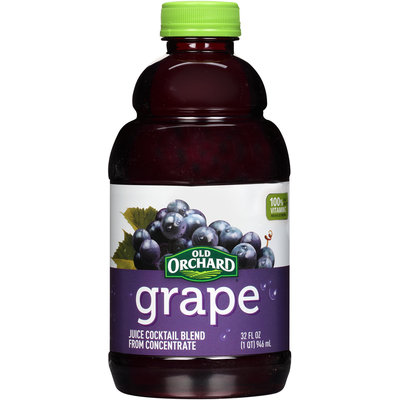 Old Orchard® Grape Juice Cocktail 32 fl. oz. Bottle