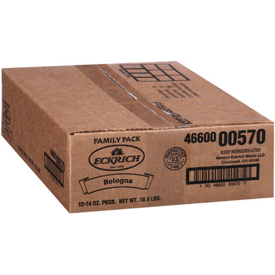 Eckrich® Red Rind Bologna 14 oz. Package