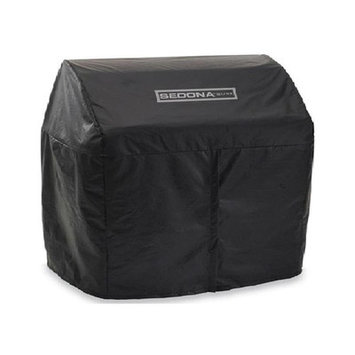 Sedona by Lynx Grill Tools Vinyl Cover for L700 Series Mounted on Cart Black VC700F
