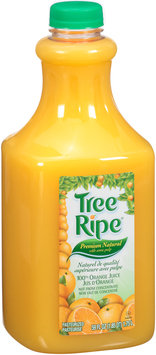 Tree Ripe® Premium Natural with Some Pulp 100% Orange Juice 59 fl. oz. Plastic Bottle