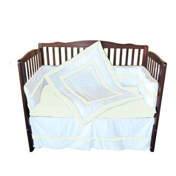 Babydoll Bedding 4 Piece Crib Bedding Set Color: Ivory