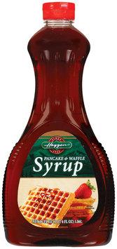 Haggen Pancake & Waffle Syrup 36 Oz Plastic Bottle