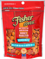 Fisher® Honey Roasted Mixed Nuts 130g Bag