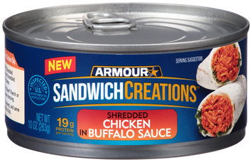 Armour® Sandwich Creations™  Shredded Chicken in Buffalo Sauce 10 oz. Can