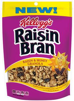 Kellogg's Raisin Bran® Raisin & Honey Granola 10.5 oz. Box