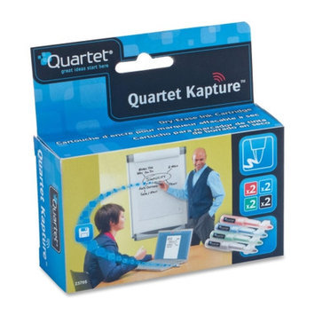 Quartet 23705 Refill for Kapture Digital Flipchart Pen, Assorted, 8/Pack