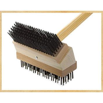 Texas Brush Junior Grill Brush Brush: Black Steel/Coarse