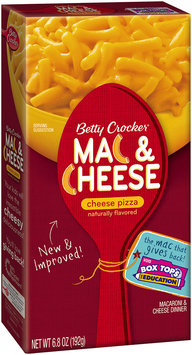 Betty Crocker® Cheese Pizza Mac & Cheese 6.8 oz. Box