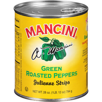 Mancini® Green Roasted Peppers 28 oz. Pull-Top Can