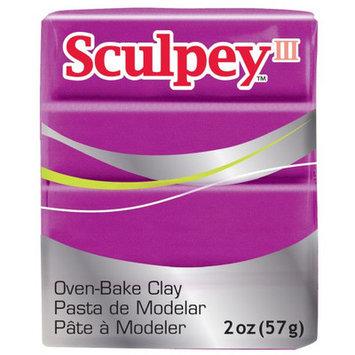 Polyform 465006 Sculpey III Polymer Clay 2 Ounces-Fuchsia Pearl