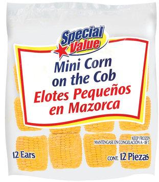 Special Value Mini Corn On The Cob 12 Ct Bag